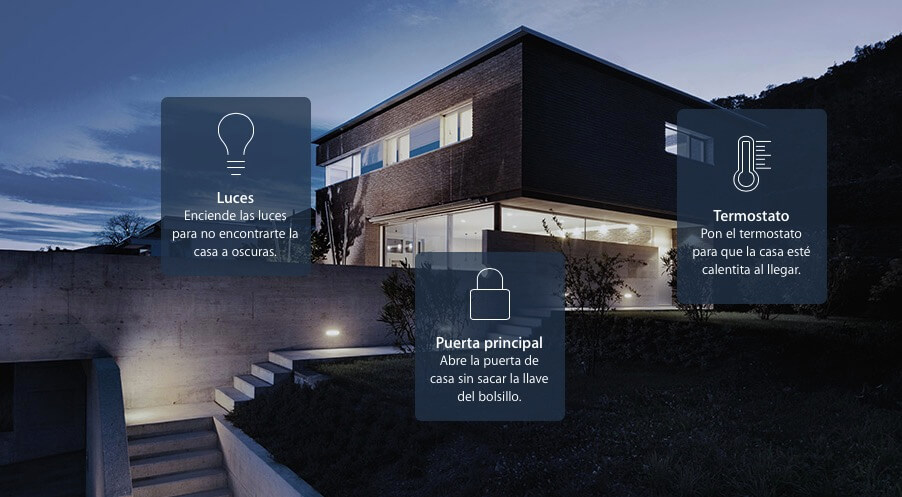 Sistema Domñotico HomeKit Apple